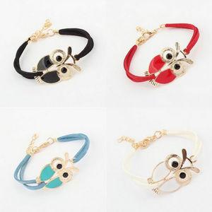SOON Retro Bracelet Owl Decorated jewelry
